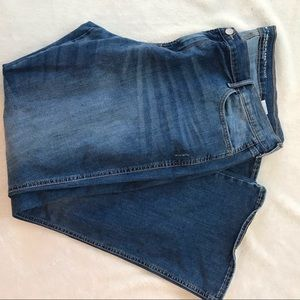 Old Navy Mid Rise Micro Flare Jeans Women's 20